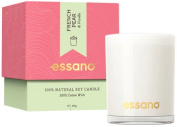 Homecare- Essano - Candle - French Pear & Vanilla - 3 x 100g x 4