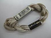 Anchor Bead Wool Yarn 1300, 5g Cream Flecked