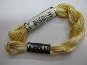 Anchor Pearl Cotton, 5g Colour 1303 gelb meliert