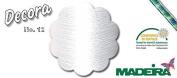 New 2016 Decora No. 12 300 M – 1001 – White Colour – Glanzvoller Viscose Embroidery Thread, Quilt and Overlockgarn