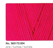 New 50g Fashion Flow – Colour 04 Fuchsia Silky Shiny Embroidery Thread with Sporty Statement
