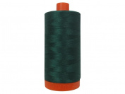 Aurifil A1050-2885 Solid 50wt 1422yds Medium Spruce Mako Cotton Thread