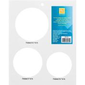 Simplicity Large EZ Yo-Yo Template Sheet, Translucent