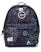 Hype Backpack Bag - Scribble Design - For Boys and Girls Women and Men - Scribble