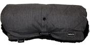 Bozz Black Melange Fleece Lined Universal Pushchair Handmuff