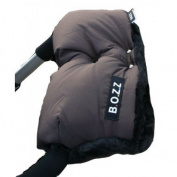 Bozz Dark Grey Fleece Lined Universal Pushchair Handmuff