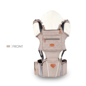 SONARIN 3 in 1 Multifunction Ergonomic Hipseat Baby Carrier, Breathable ,100% Cotton, One Size Fits All, Easy to Carry and Easy Mom, Cosy & Soothing For Babies,Adapted to Your Child's Growing, 100% GUARANTEE and FREE DELIVERY,Ideal Gift