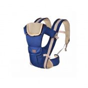 MultiWare Adjustable Infant Carrier Wrap Sling Newborn Backpack Breathable Ergonomic Design Blue