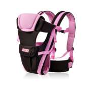 MultiWare Adjustable Infant Carrier Wrap Sling Newborn Backpack Breathable Ergonomic Design Pink