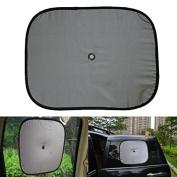 Alamor Nylon Imitation Cloth Car Side Window Reflective Wind Shield Shade Sun Block Protection