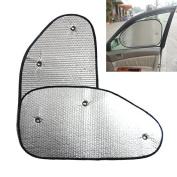 Alamor Reflective Car Side Window Aluminium Foil Wind Shield Shade Protection Sun Block