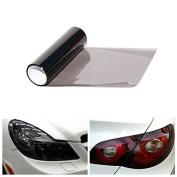 Alamor 30Cmx60Cm Car Light Smoke Sticker Tint Vinyl Film For Headlight Tail Lamp Fog Light