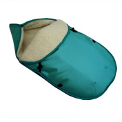Bambini World Universal Footmuff Baby Car Seat e.g. Maxi Cosi or in Wool Plain Turquoise
