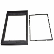 Alamor Car Stereo Panel Plate 2Din Fascia Panel Adapter For 06-On Ford Focus Transit