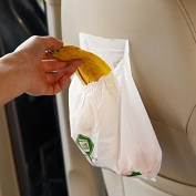 Alamor 15Pcs Car Disposable Garbage Bag Vehicle Biodegradable Heaithy Green Storage Rubbish Bags
