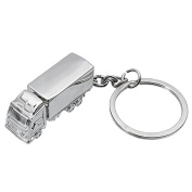 Alamor Truck Key Chain Creative Metal Keychains For Car Key Door Key