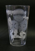 Marstons Brewery Pint Glass
