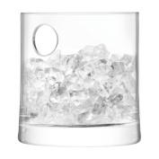 Ginsanity Gin Ice Bucket - Clear Glass 14cm