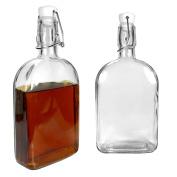 Ginsanity Large Glass Bottle with Kilner style lid (Sloe Gin) - 500ml