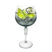 Ginsanity Speakeasy Platinum coloured Gin Cocktail Glass Grey Bowl - 585ml