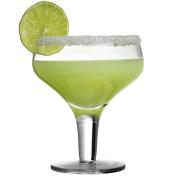 Retro Margarita Glass 28cl - Single - Handmade Coupe with a Short Stem