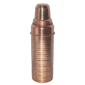 Dungri India Copper Thermos Design Copper Bottle, Travelling Purpose, Ayurvedic Health Benefits