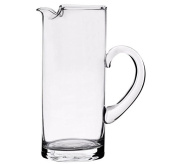 Transparent, Clear Glass Pimms | Cordial Ice Lip Jug Carafe 29 cm high 2 litres
