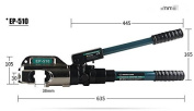 EP-510 Integral type hydraulic clamp with 50-400mmdies