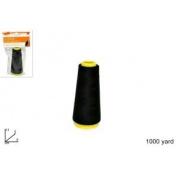 Haberdashery Yarn Cone Black Ref 3015 Code 4091