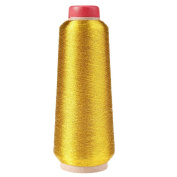 Uminilife Gold and silver line/computer cross-stitch embroidery thread/line/textile metallic yarn woven embroidery line