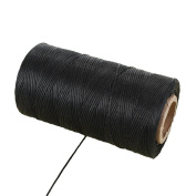 1mm x 260 Metres 150D Leather Waxed Thread Cord Craft for DIY Handicraft Tool Hand Stitching Thread