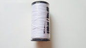 SPOOL OF THREAD CORD Goldmann A Chinese 100% Polyester Sewing Thread/N ° 40 – White – 100 metres – great, jeans and Leather Stitching Sewing Buttons Decorative Ornaments, Thick Fabric, Costume Jewellery, D Outdoor Canvases – German Heavy Duty Repair Ha ..