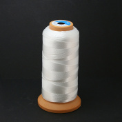White Polyester Sewing Thread High Tenacity 2000 Yard for the Upholstery, Outdoor Market, Drapery, Beading, Luggage, Purses