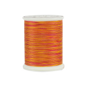 Superior Threads 12101-929 King Tut Chariot of Fire 3-Ply 40W Cotton Quilting Thread, 500 yd