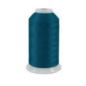 Superior Threads 11602-437 So Fine Teal 3-Ply 50W Polyester Thread, 3280 yd