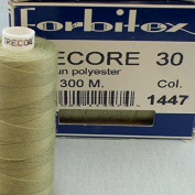 Light Green Sewing Thread Thickness 30 300 m Polyester Trecore Forbitex