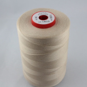 Beige Sewing Thread Thickness 80 Polyester 5000 m Trecore Forbitex