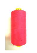Gütermann Mara 50 Jeans Quilt Thread 500 m Roll Neon Pink 3837