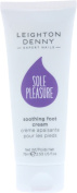 Leighton Denny Ladies Pedicure Treatment Sole Pleasure Soothing Foot Cream 75ml