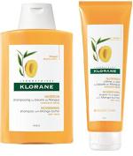 DUO KLORANE Mango Butter Shampoo 200ml + Leave-In Cream 125ml