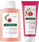 DUO Klorane Colour Radiance Shampoo 200ml + Conditioner 200ml with Pomegranate