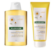 DUO Klorane Shampoo 200ml + Conditioner 200ml Blond Highlights with chamomile