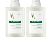 2x Klorane Ultra-Gentle Shampoo With Oatmilk - 200 ml