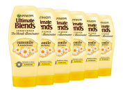 Garnier Ultimate Blends Camomile Blonde Hair Conditioner, 360 ml, Pack of 6