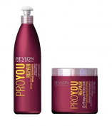 Revlon Pro You Repair Shampoo 350ml and Repair Treatment 500ml