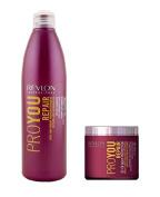 Revlon Pro You Repair Shampoo 1000ml and Repair Treatment 500ml