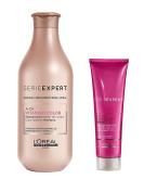 L'Oreal Serie Expert Vitamino Colour A-OX Shampoo 300ml and Brunette Cool Cover Cream 150ml