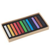 niceeshop(TM) 12 Colours Chalk Pastels Set for Art Drawing Scrapbooking