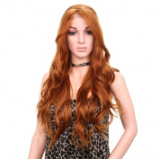 Golden Rule Blonde Long Curly Wig 80cm Party Fancy Daily Dress wig Full Wig for Women