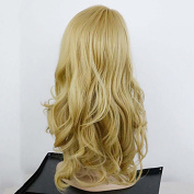 MZP Long Wave Blonde Wig Cheap Synthetic Wigs For Women Best Natural Looking Hair Wig Womens Wig Synthetic , blonde